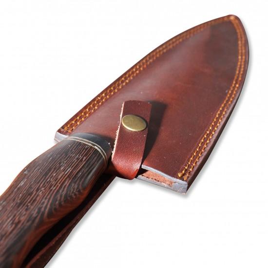 Кухненски нож стомана D2 - ръчна изработка CB 100051