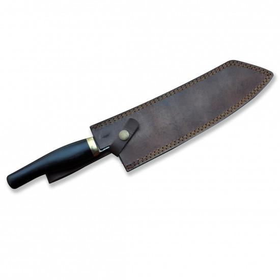 Кухненски нож - ръчна изработка - дамаска стомана - CB 100052