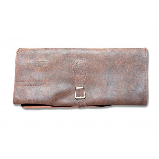 Чанта за ножове от естествена кожа за 5 ножа  - CB 100056