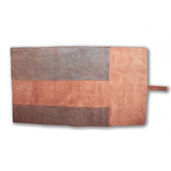 Чанта за ножове от естествена кожа за 7 ножа - CB 100057